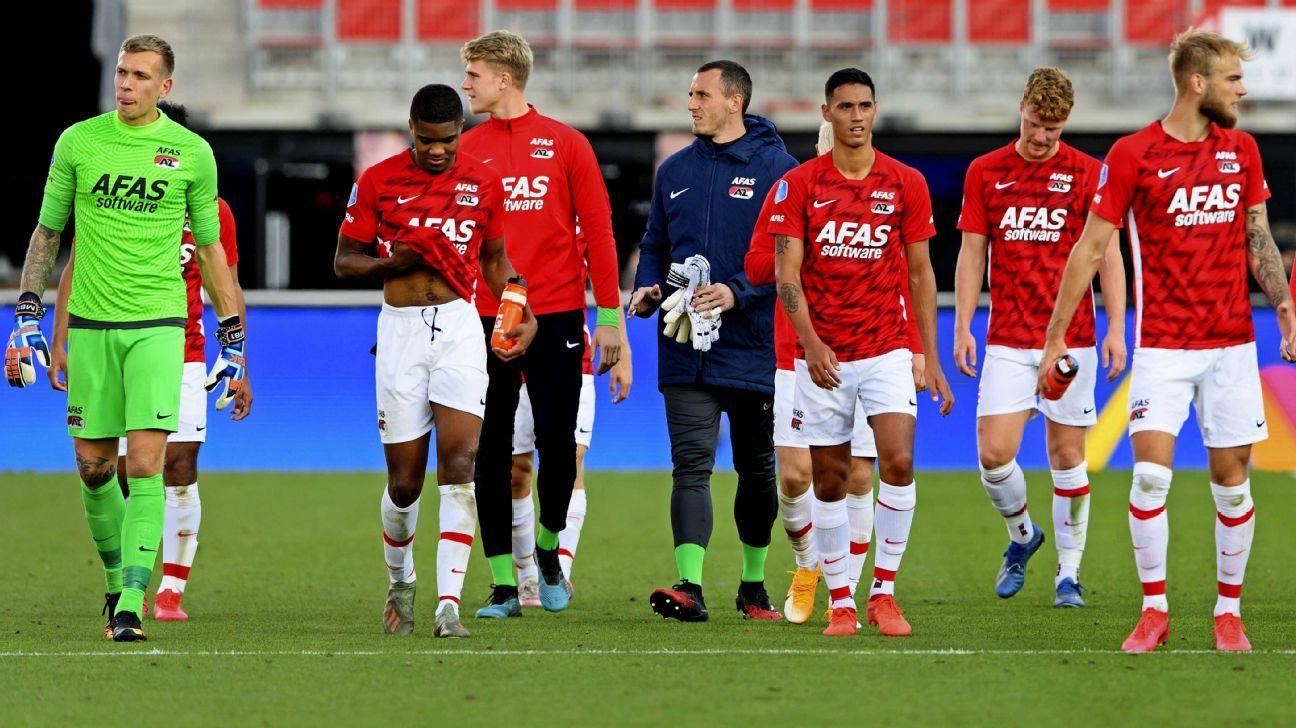Partido entre AZ Alkmaar y Napoli estaría en riesgo por brote de COVID-19 el equipo neerlandés
