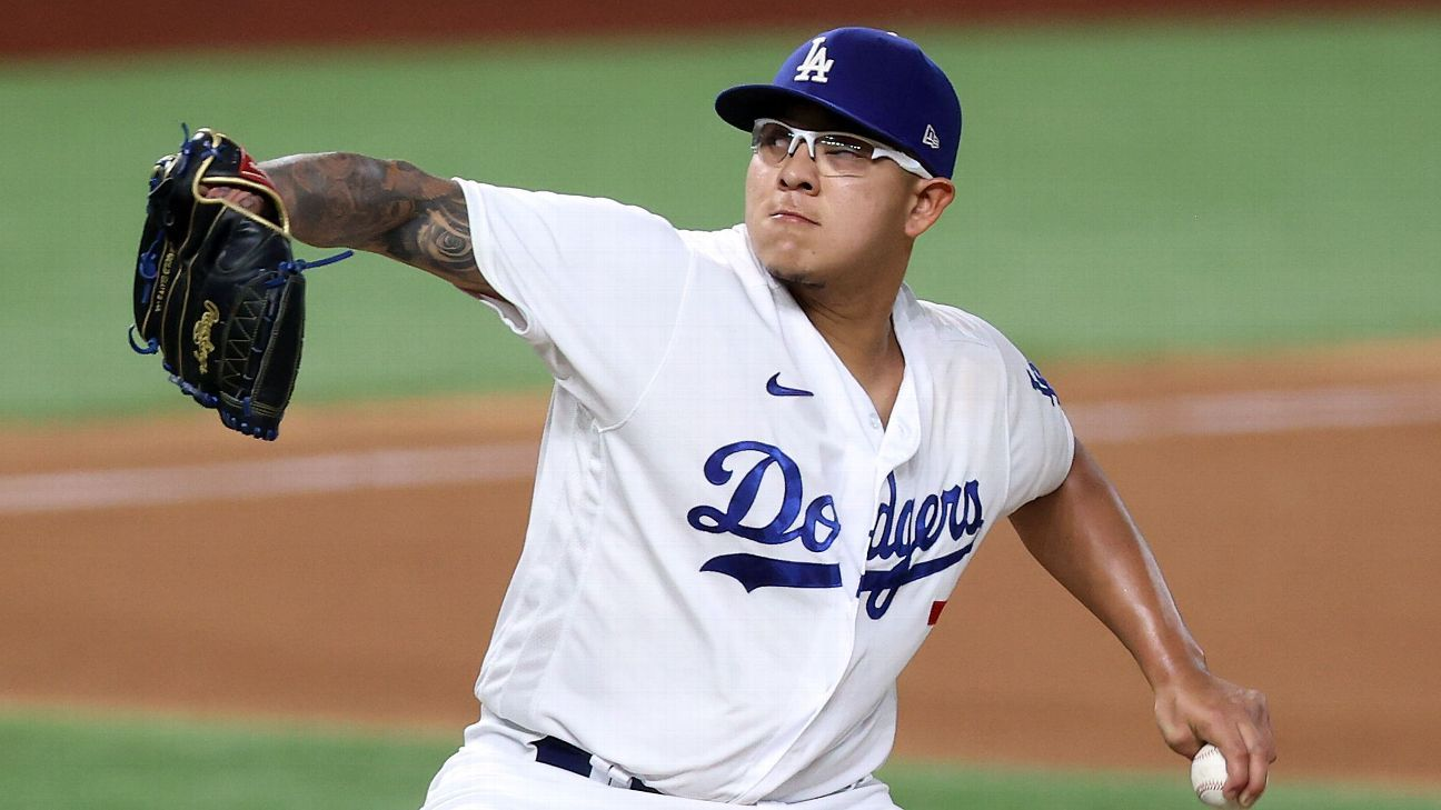 World Series Daily: Will Julio Urias, Dodgers push Rays to brink in Game 4?