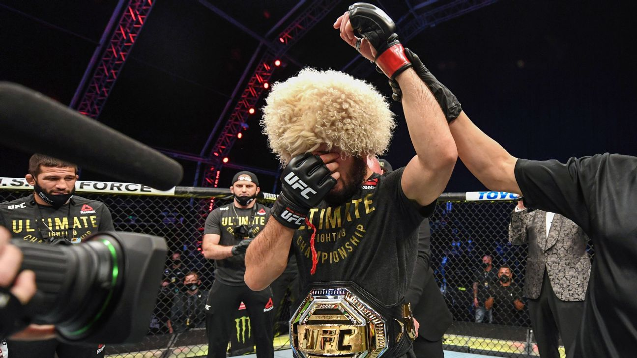 Khabib Nurmagomedov Announces Retirement After Defeating Justin Gaethje at UFC 254