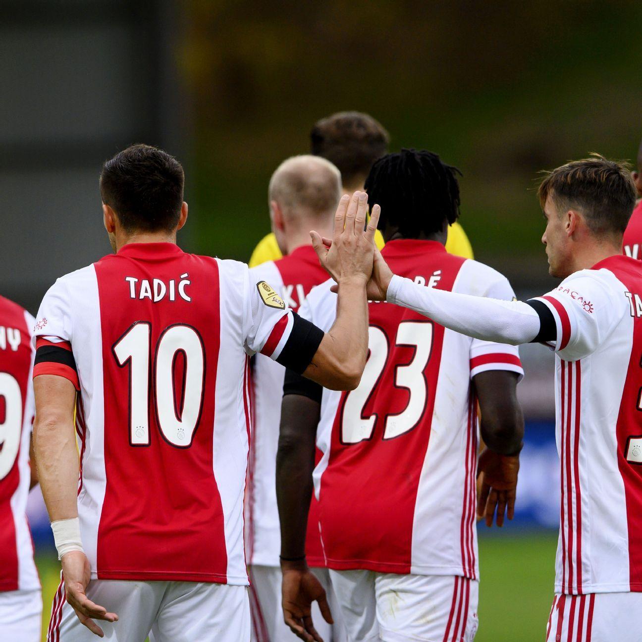 VVV Venlo vs. Ajax Amsterdam - Football Match Summary ...