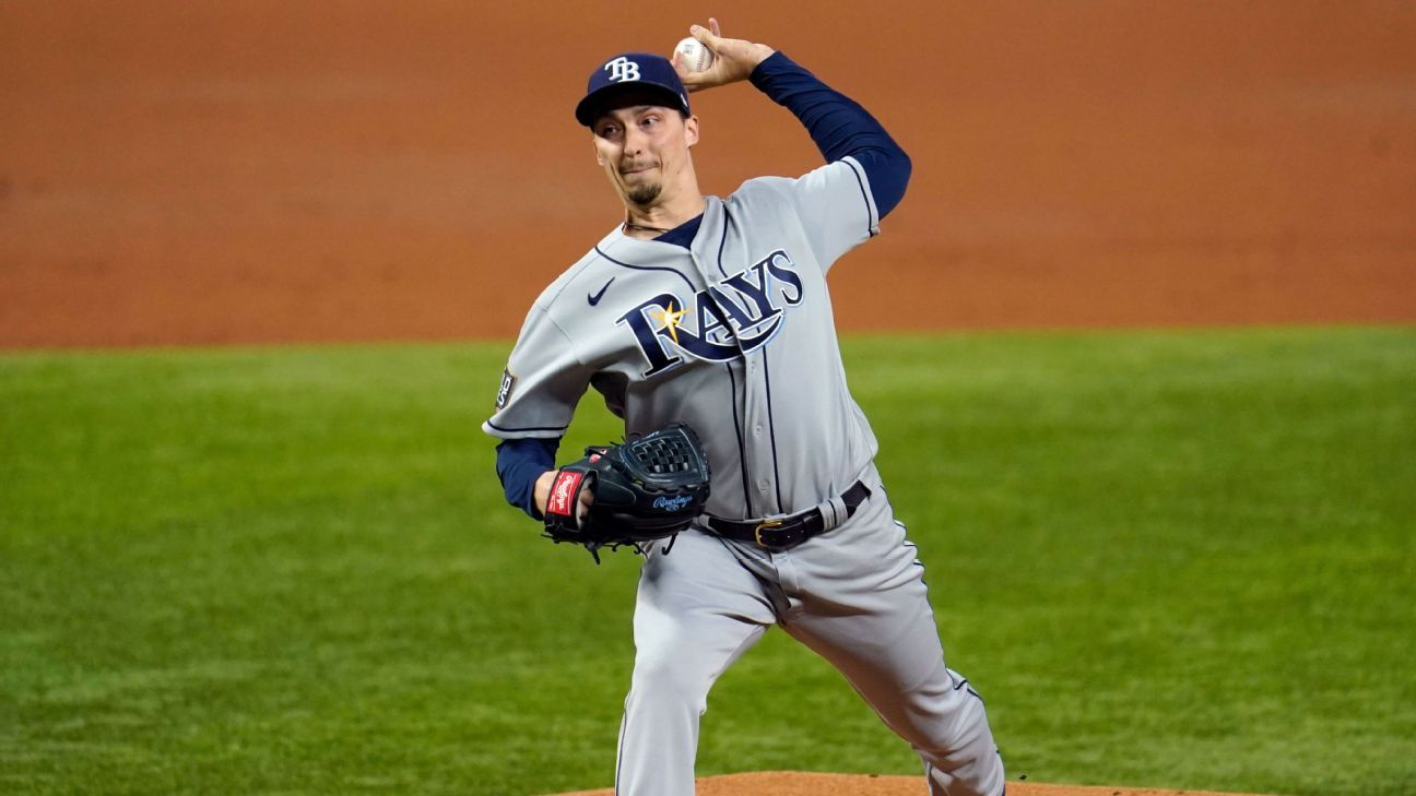 Sources – Padres near trade to acquire former Cy Young winner Blake Snell from Rays – ESPN
