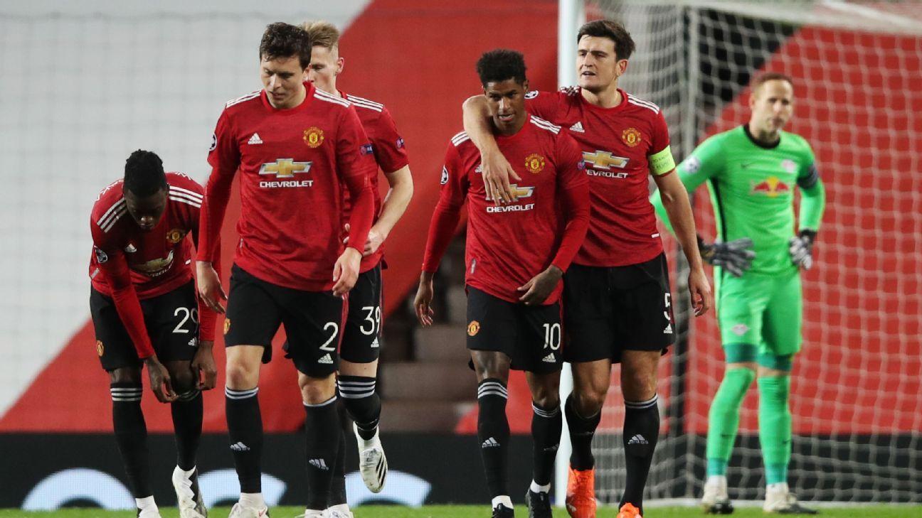 Manchester United vs. RB Leipzig - Reporte del Partido - 28 octubre, 2020 - ESPN