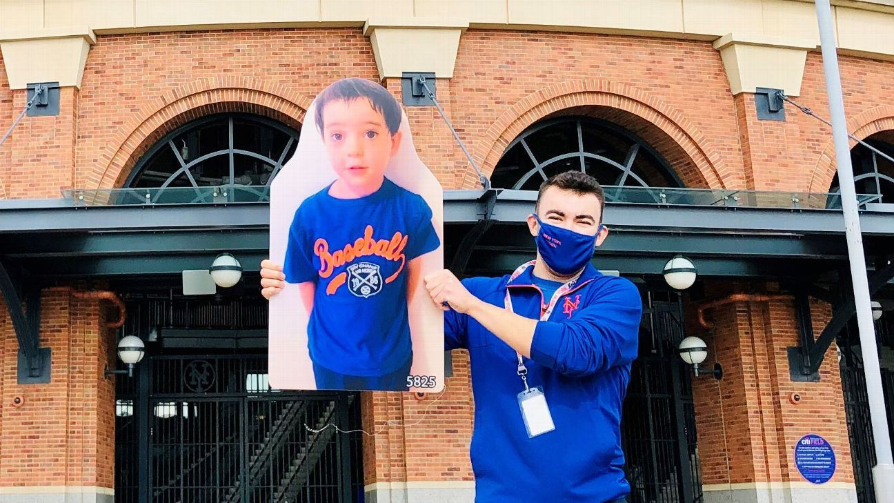 My 5-year-old couldn't go to a Mets game this year -- so I sent him to all of them