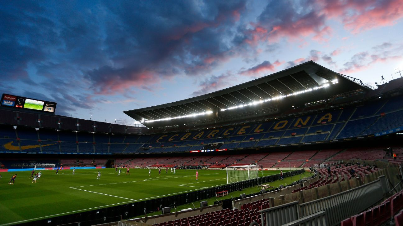 Barca tops list but big clubs' revenue drops €2b