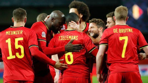 Belgium vs. England - Football Match Report - November 15 ...
