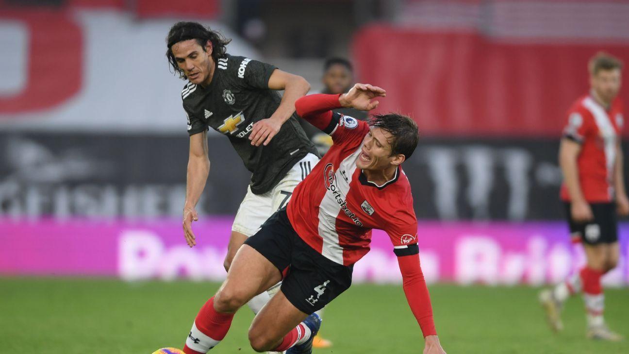 Southampton vs. Manchester United - Reporte del Partido - 29 noviembre, 2020 - ESPN