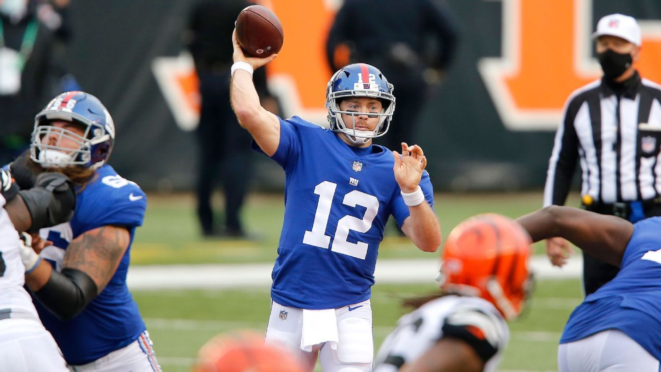 Sources — New York Giants to start QB Colt McCoy over injured Daniel Jones – ESPN