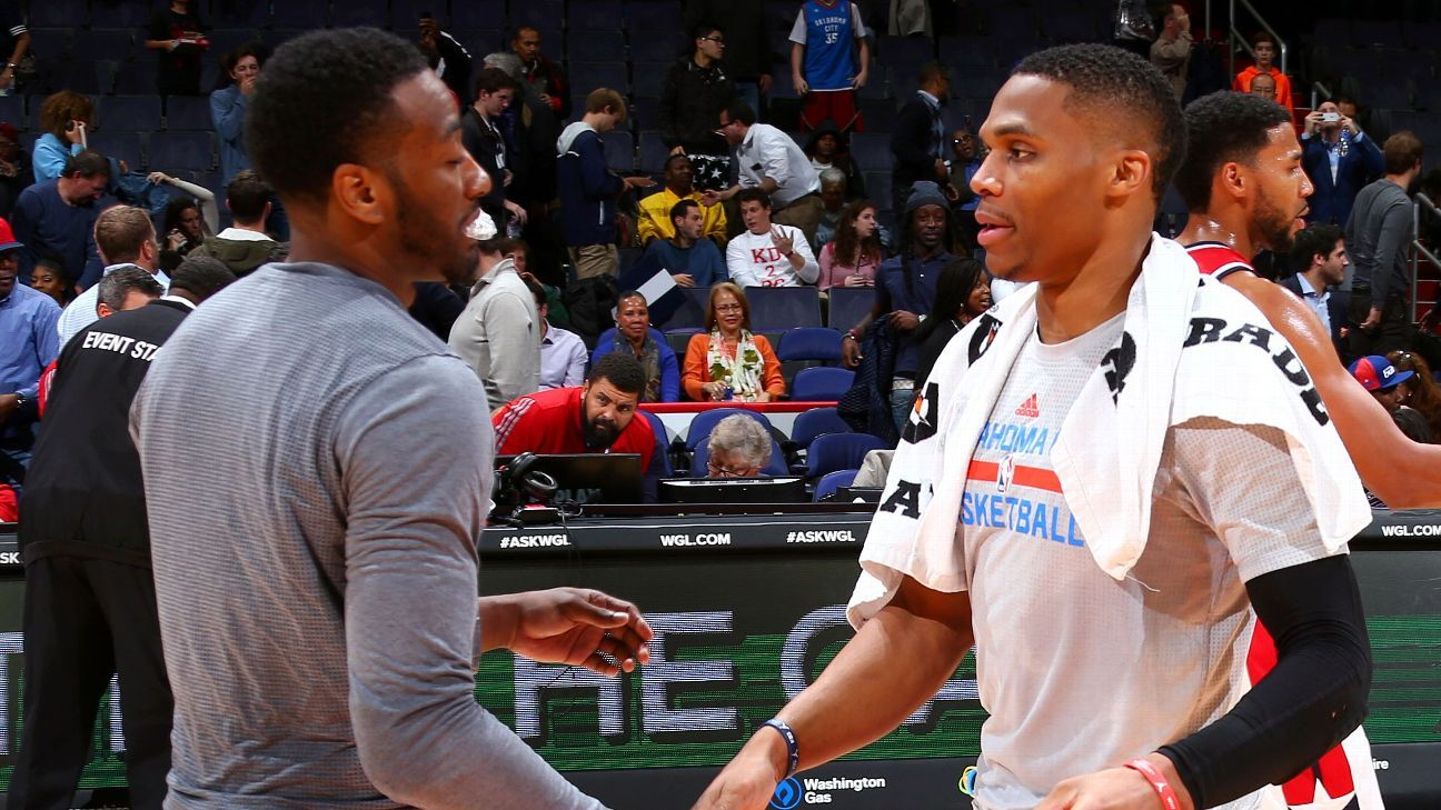 Sources — Houston Rockets Washington Wizards agree to Russell Westbrook-John Wall deal – ESPN