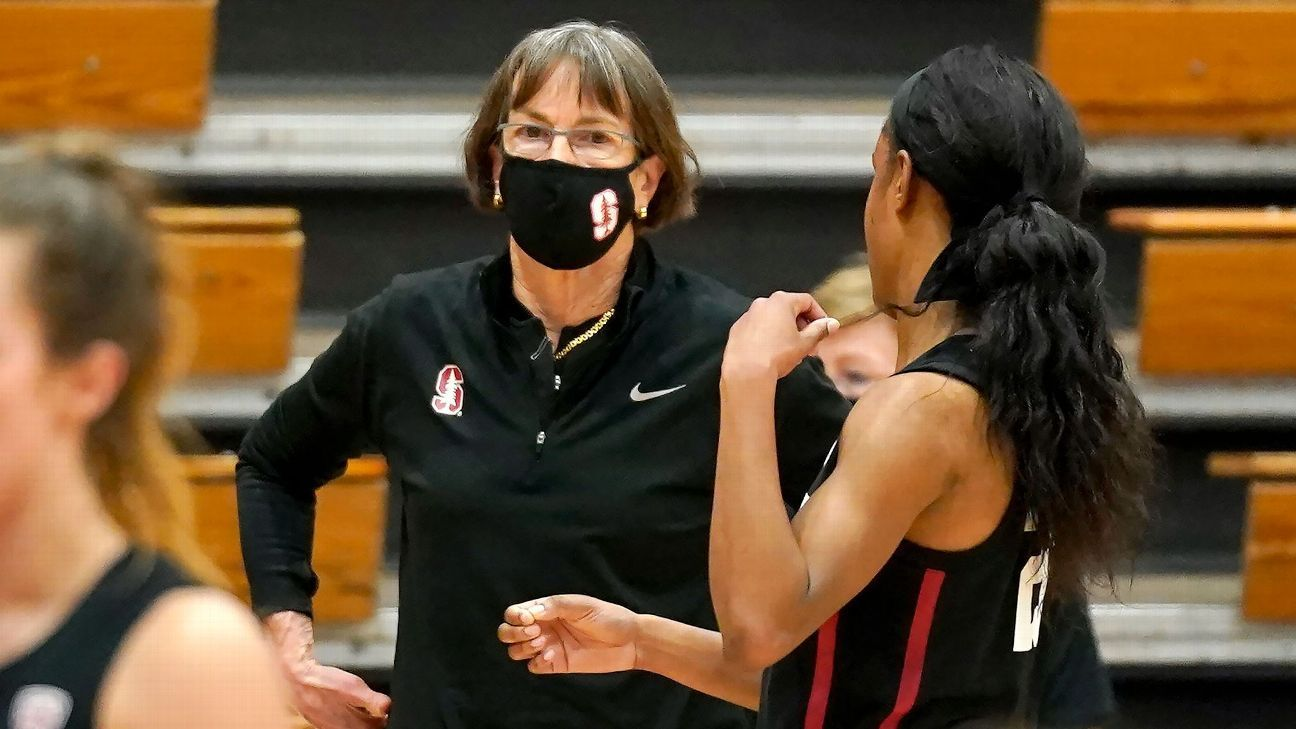 Stanford coach Tara VanDerveer 67 surpasses Pat Summitt for most victories in Division I women's basketball with 1099 – ESPN