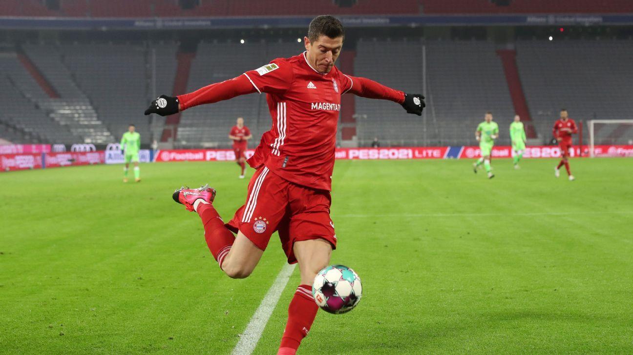Lewandowski marca 250º gol na Bundesliga na vitória do Bayern