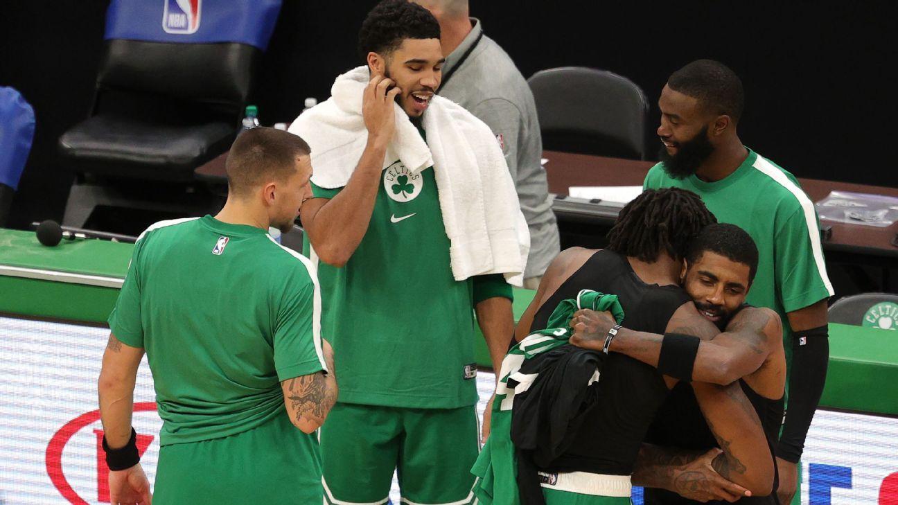 Boston Celtics Report- ESPNKyrie Irving Cleansing