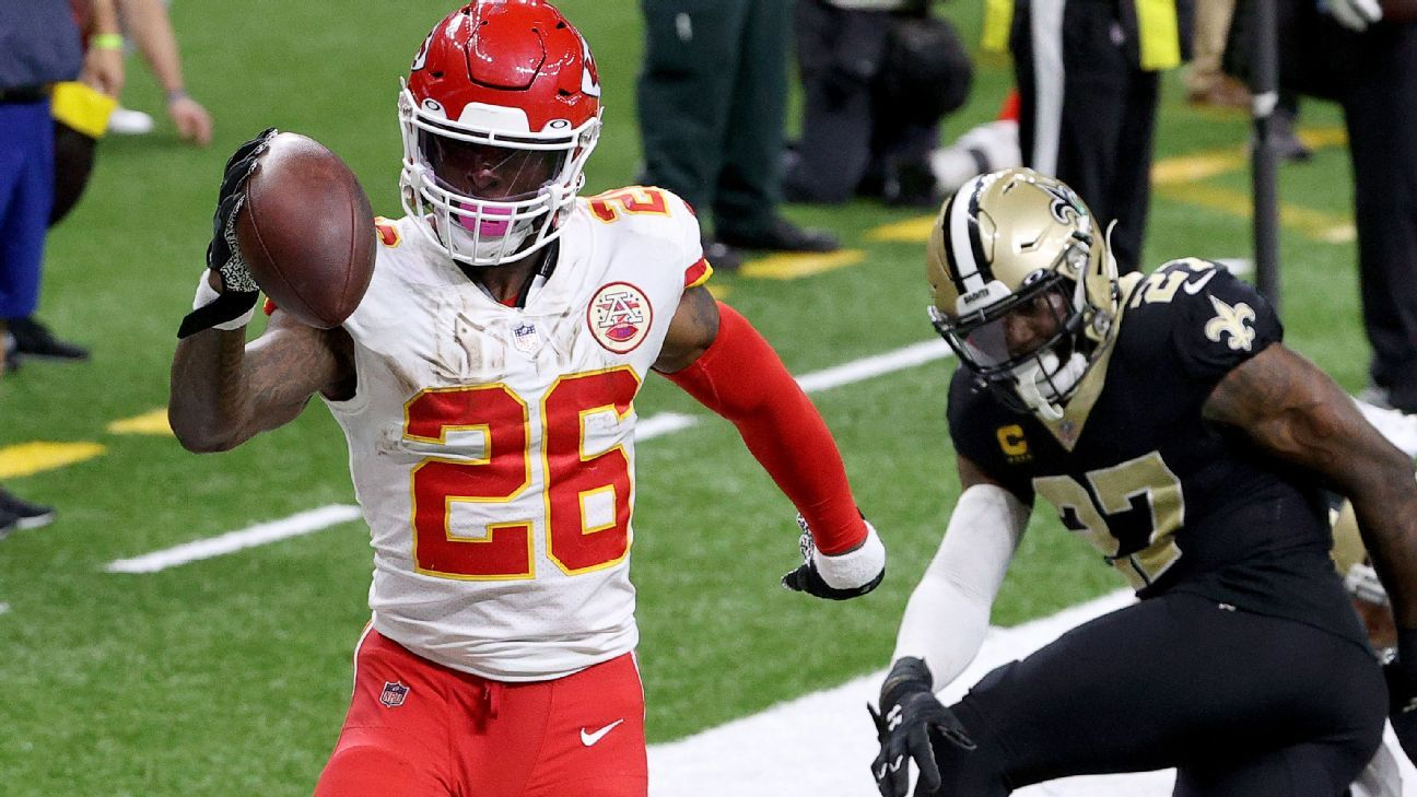 Sources — Chiefs' Le'Veon Bell Sammy Watkins and Buccaneers' Antonio Brown Antoine Winfield Jr. expected to play in Super Bowl – ESPN