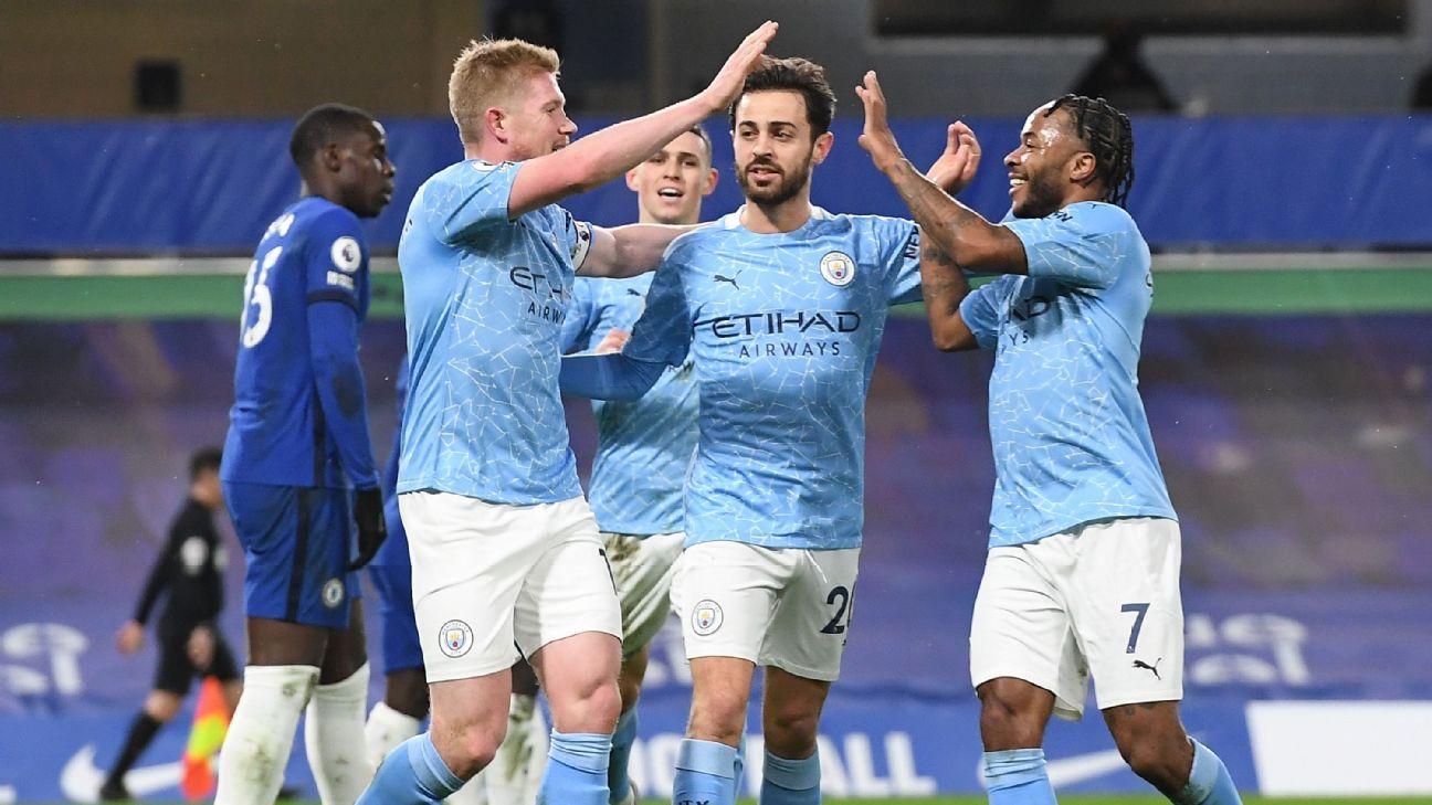 Chelsea vs. Manchester City - Reporte del Partido - 3 enero, 2021 - ESPN
