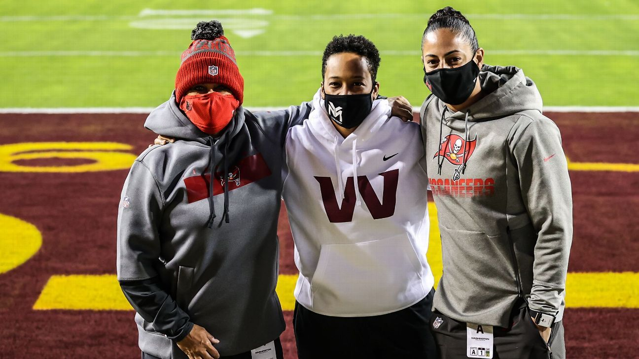 Partido Buccaneers-Washington, histórico para coaches mujeres