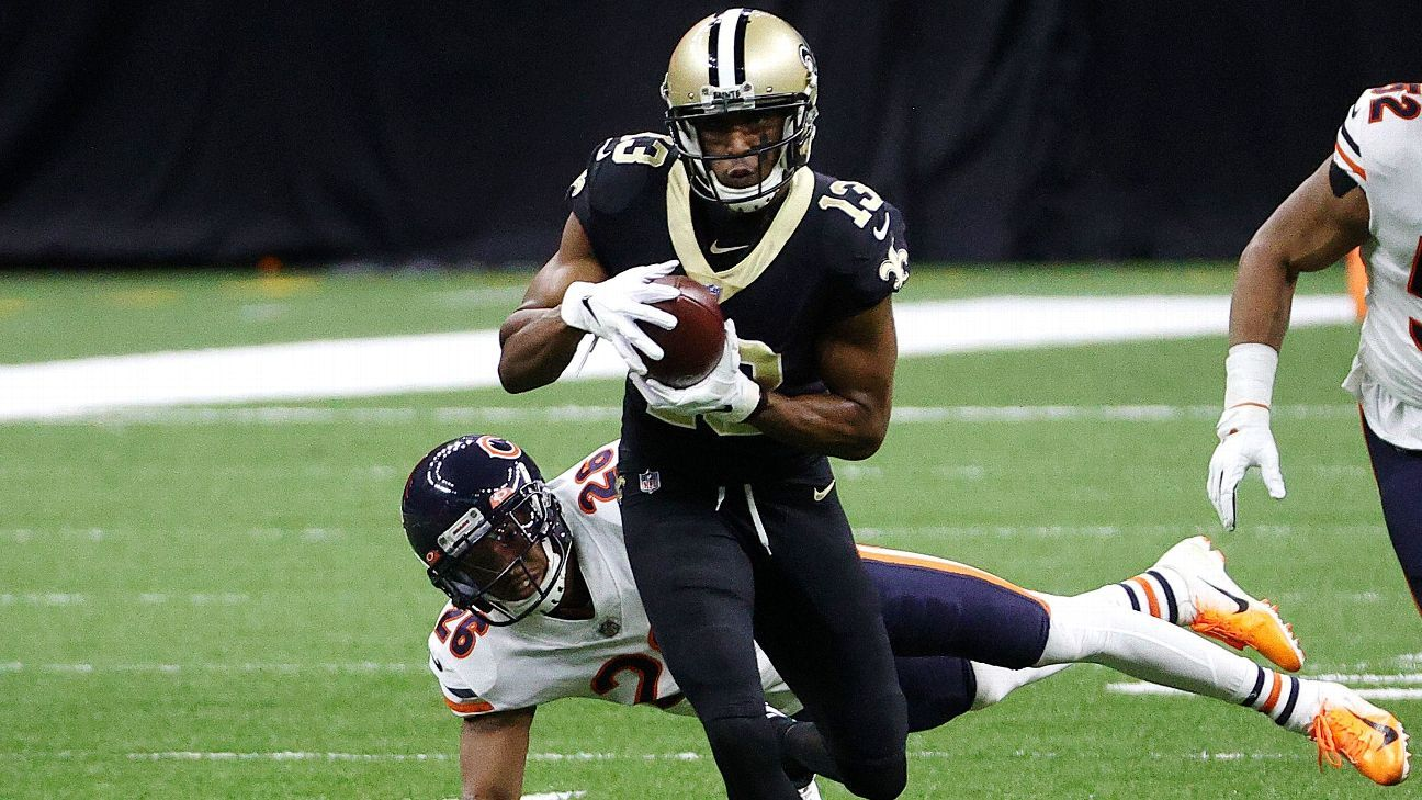 New Orleans Saints receiver Michael Thomas likely to have multiple surgeries on ankle - ESPN