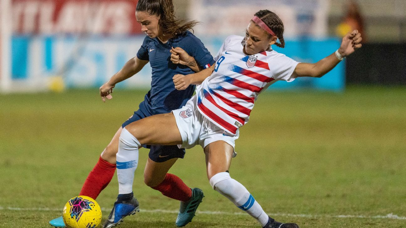 Trinity Rodman selected No. 2 in NWSL draft