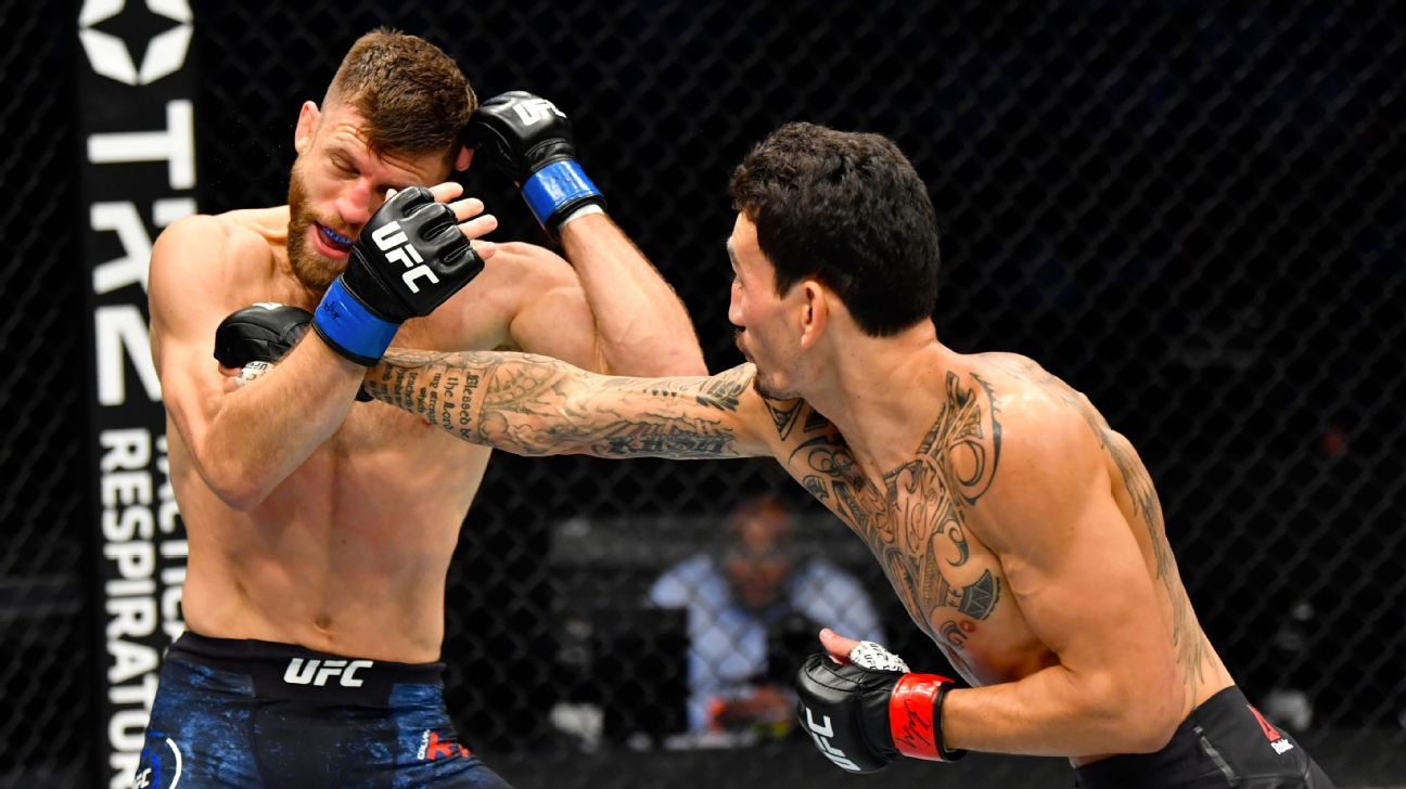 Fighters react to Max Holloway's impressive victory over Calvin Kattar