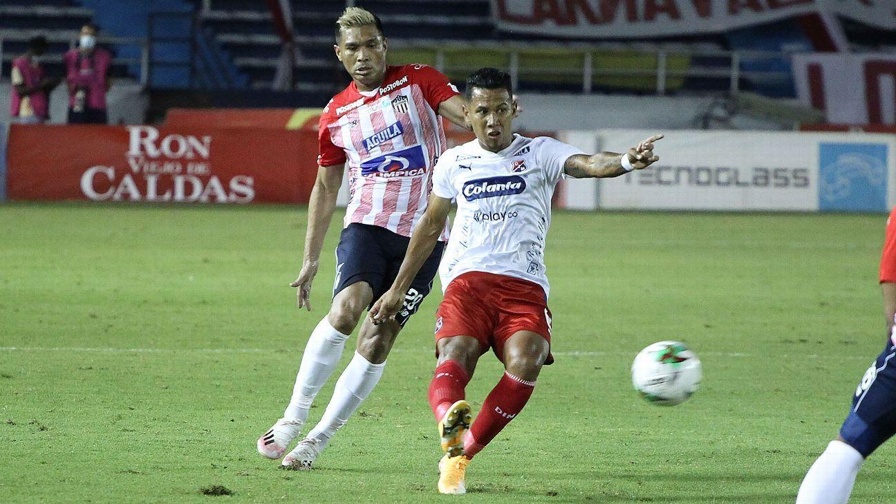 Atlético Junior vs. Independiente Medellín - Reporte del Partido - 16 enero, 2021 - ESPN