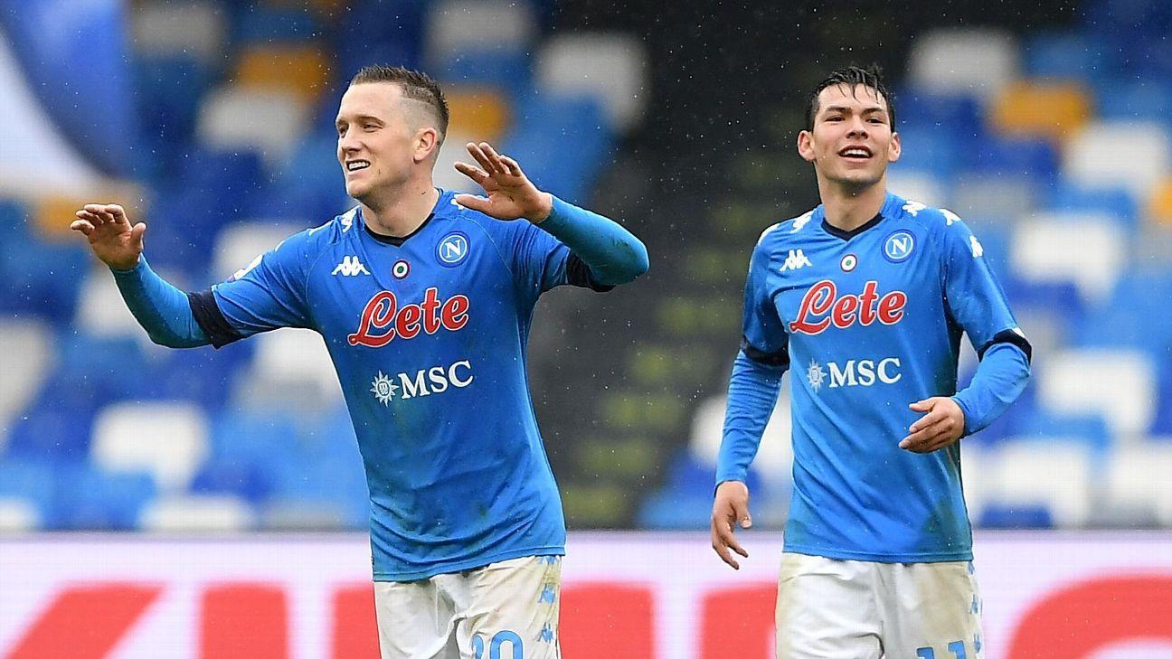 Napoli vs. Fiorentina - Reporte del Partido - 17 enero, 2021 - ESPN