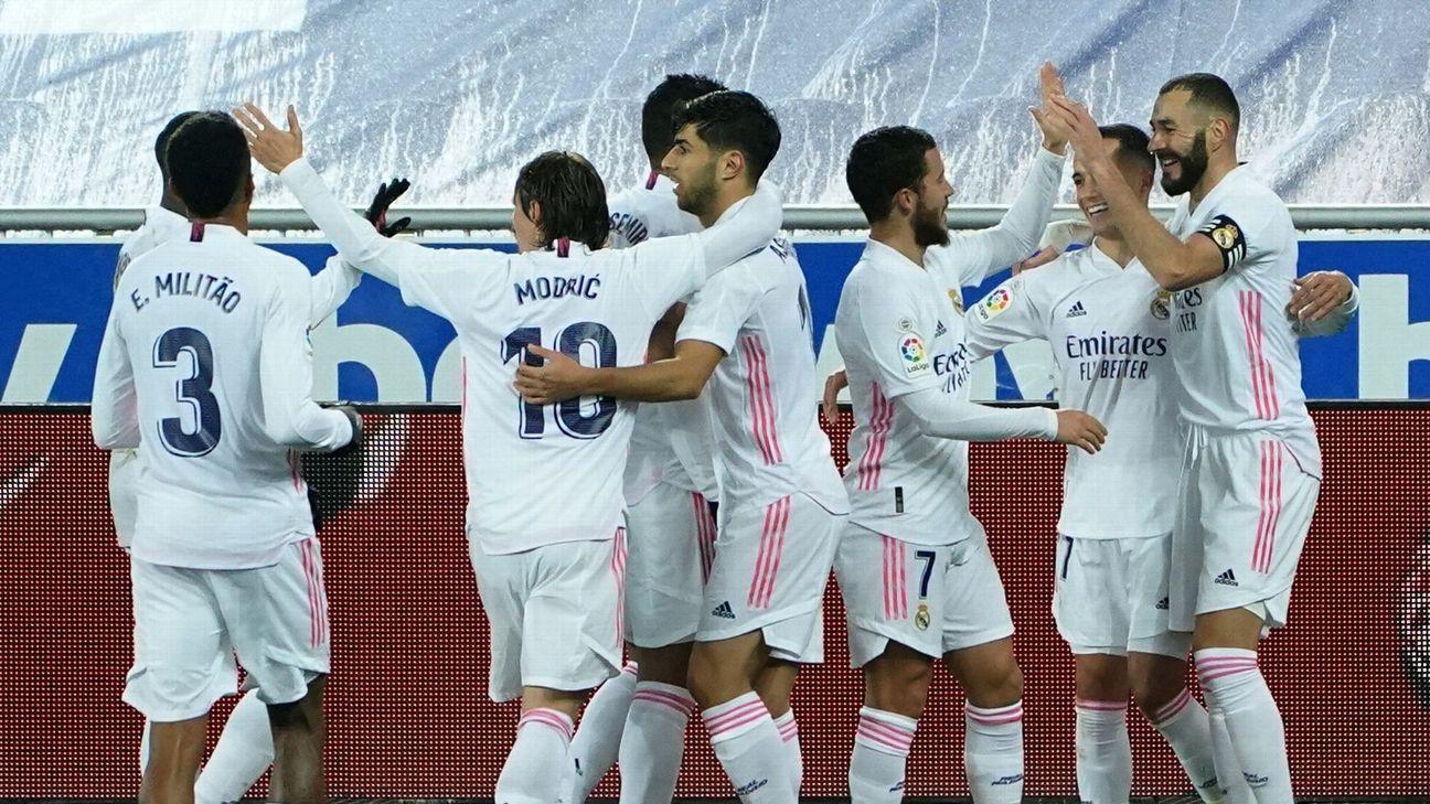 Alaves Vs Real Madrid Football Match Report January 24 2021 Espn