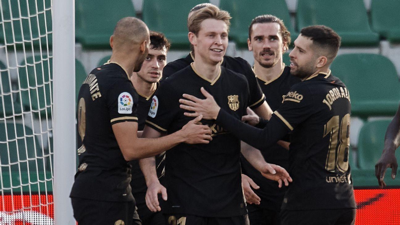 Elche vs. Barcelona - Reporte del Partido - 24 enero, 2021 - ESPN