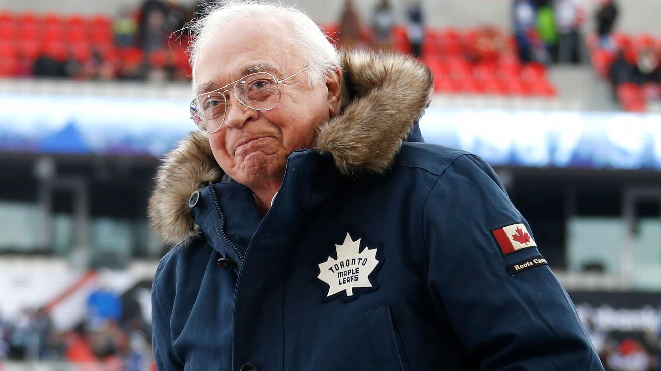 Maple Leafs Hall of Famer Armstrong dies at 90