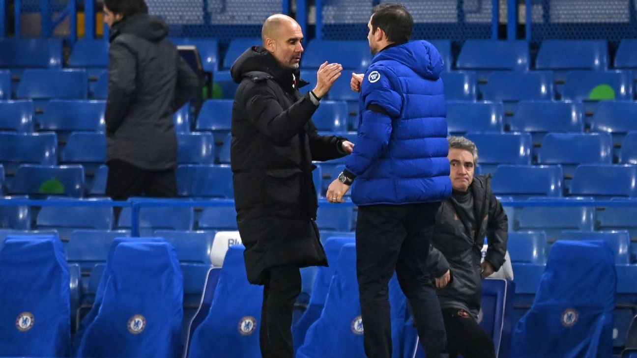 Guardiola on Lampard: Managers have to win