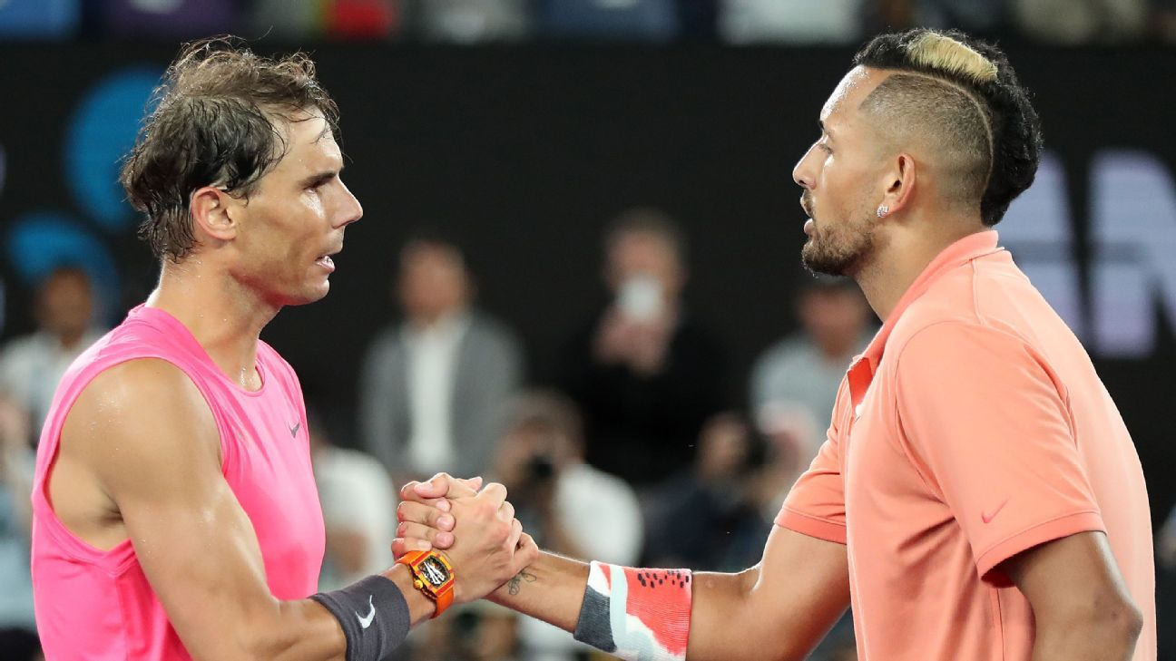 Kyrgios Nadal take swipe at Djokovic over Australian Open – ESPN Australia