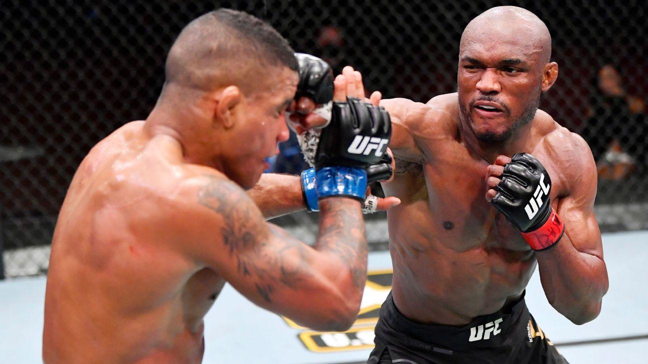 Kamaru Usman defeats Gilbert Burns by TKO to retain UFC welterweight title – ESPN