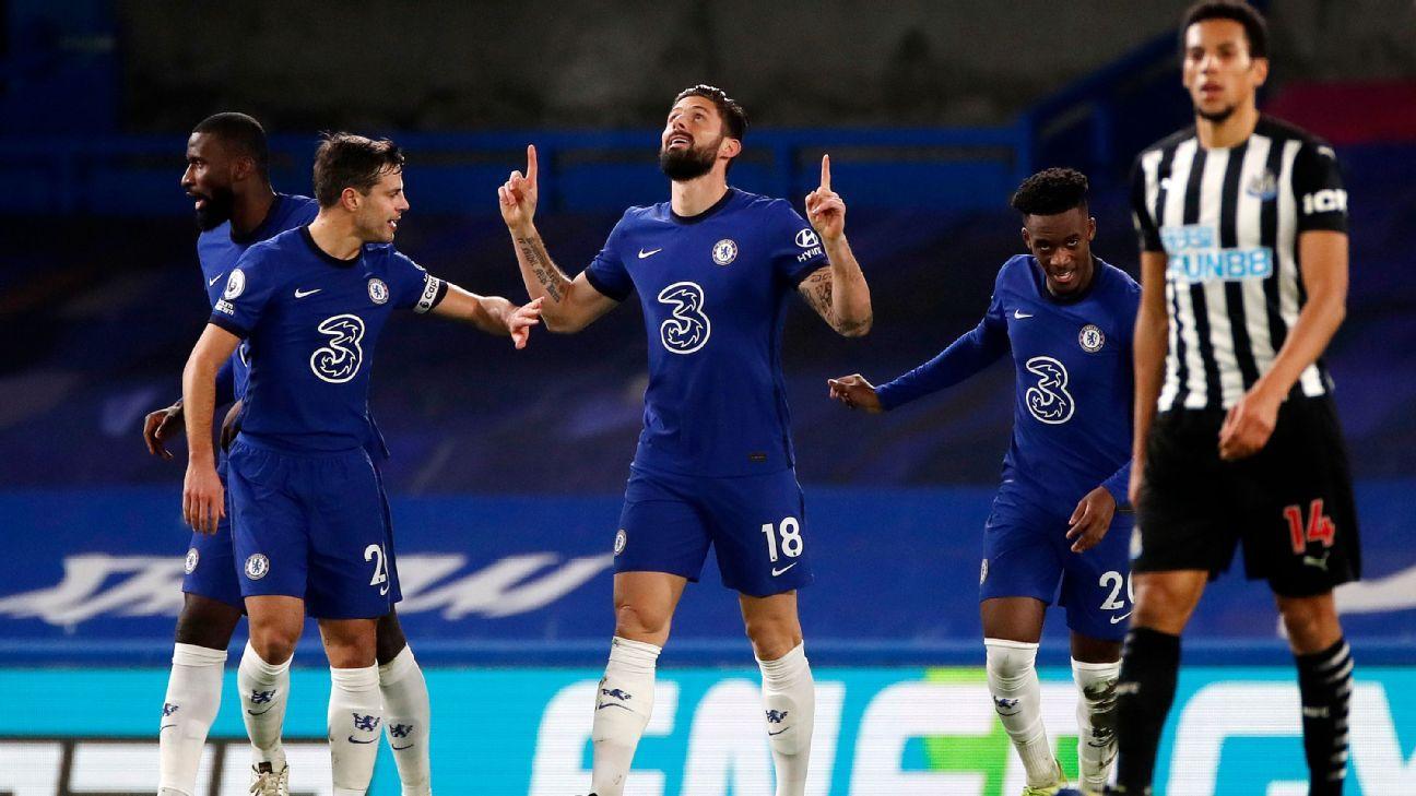 Chelsea vs. Newcastle United - Reporte del Partido - 15 febrero, 2021 - ESPN