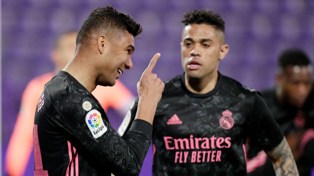 Real Valladolid vs. Real Madrid - Reporte del Partido - 20 febrero, 2021 - ESPN
