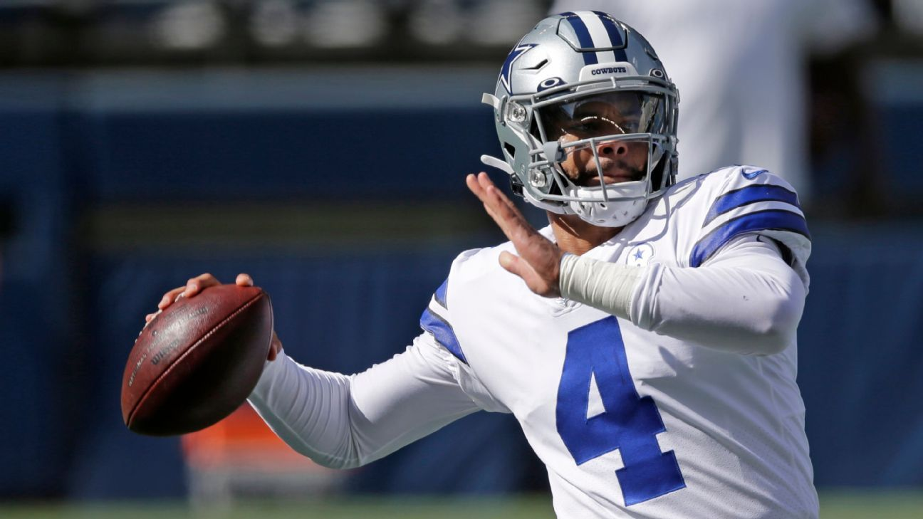 Dak Prescott, Aaron Jones and Hunter Henry are among the players who could be tagged. NFL Nation reporters make their predictions.