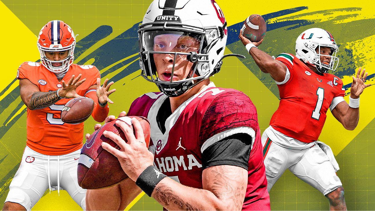 College football's top 25 future quarterback power rankings