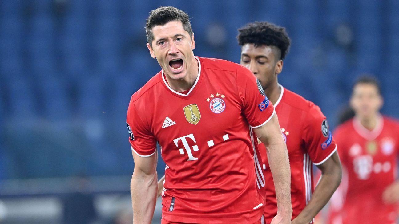 Lazio Vs Bayern Munich Football Match Report February 23 2021 Espn