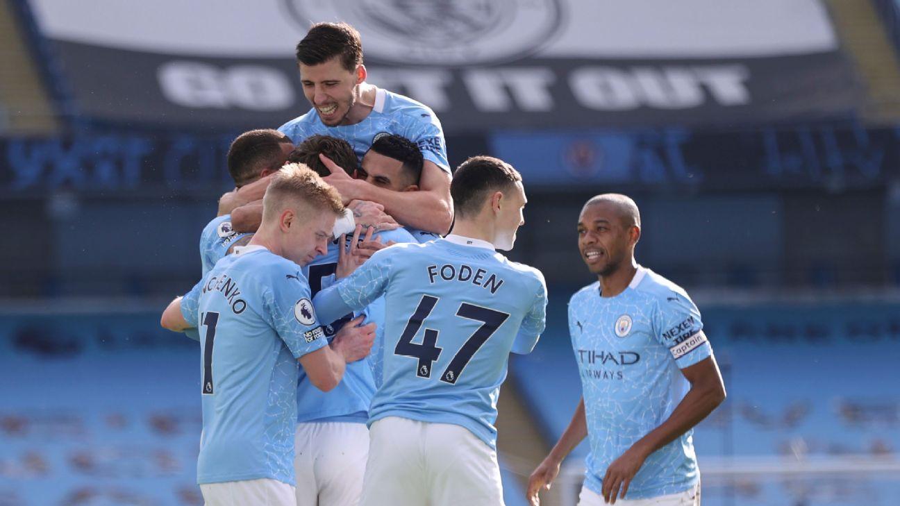 Manchester City vs. West Ham United - Reporte del Partido - 27 febrero, 2021 - ESPN