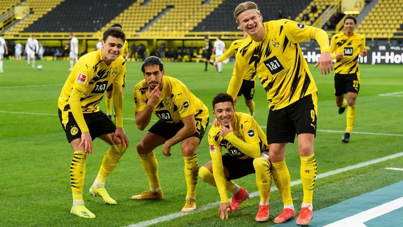 Borussia Dortmund Vs Arminia Bielefeld Football Match Report February 27 2021 Espn