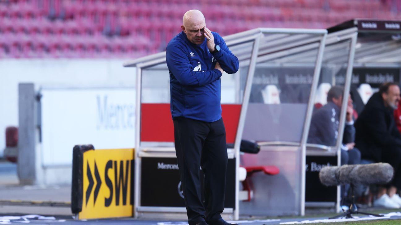 Schalke in meltdown: Entire sporting staff sacked as club sets unwanted Bundesliga record - ESPN India