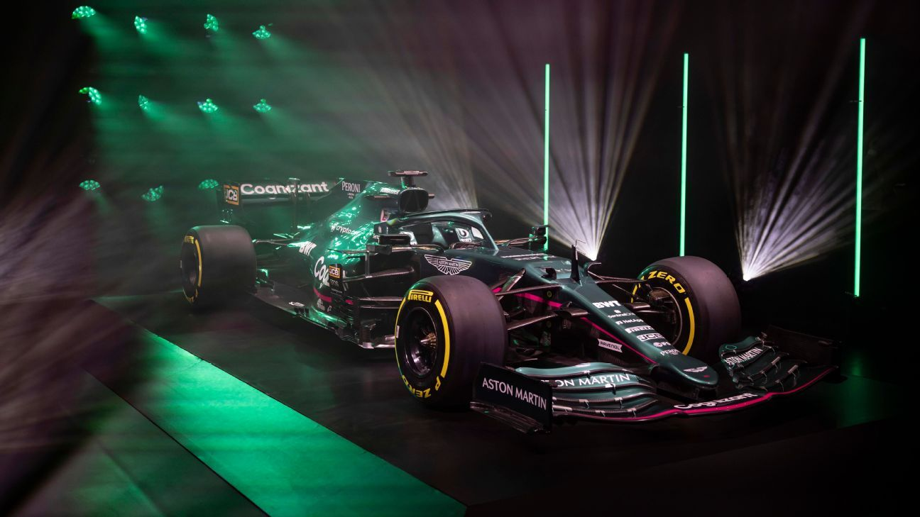 Aston Martin reveals first F1 car for 2021 debut