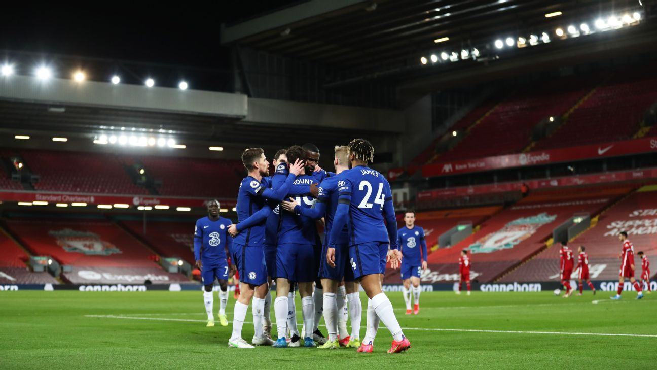 Chelsea positions itself for top-four place, leaving Liverpool behind