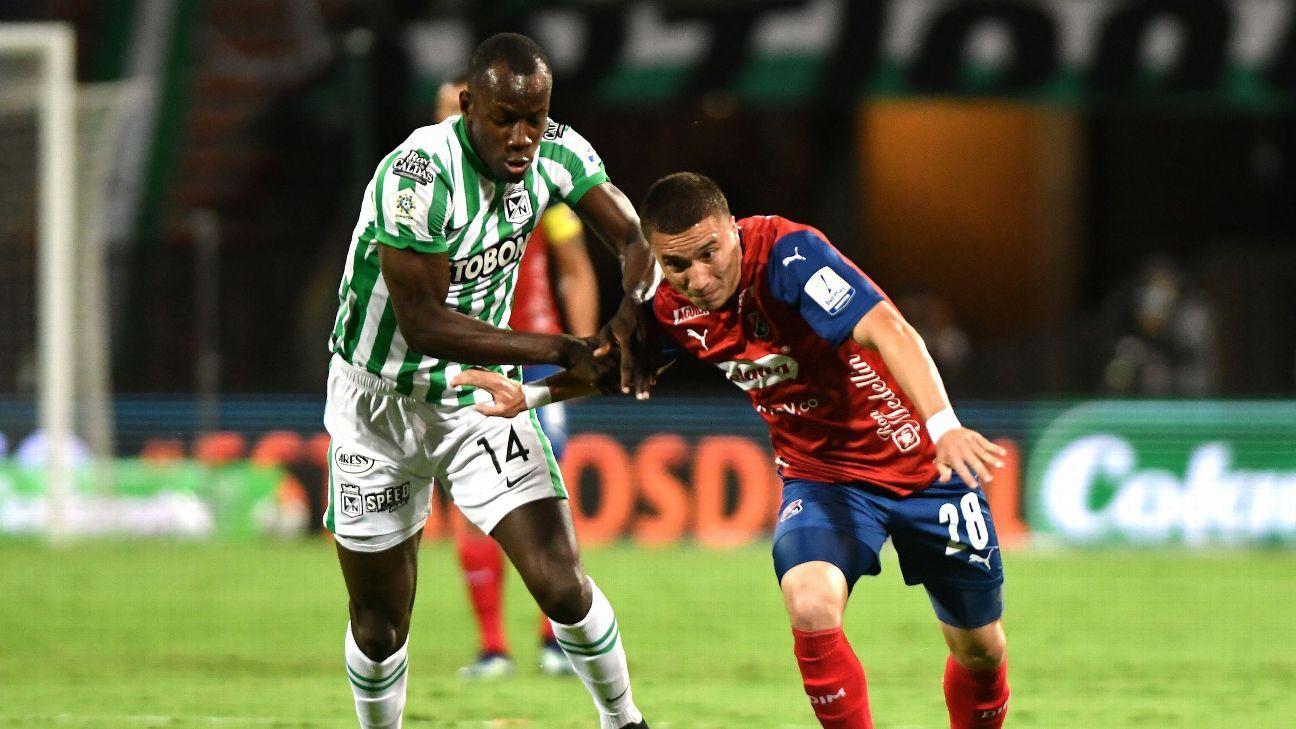 Independiente Medellín vs. Atlético Nacional - Reporte del Partido - 27 marzo, 2021 - ESPN