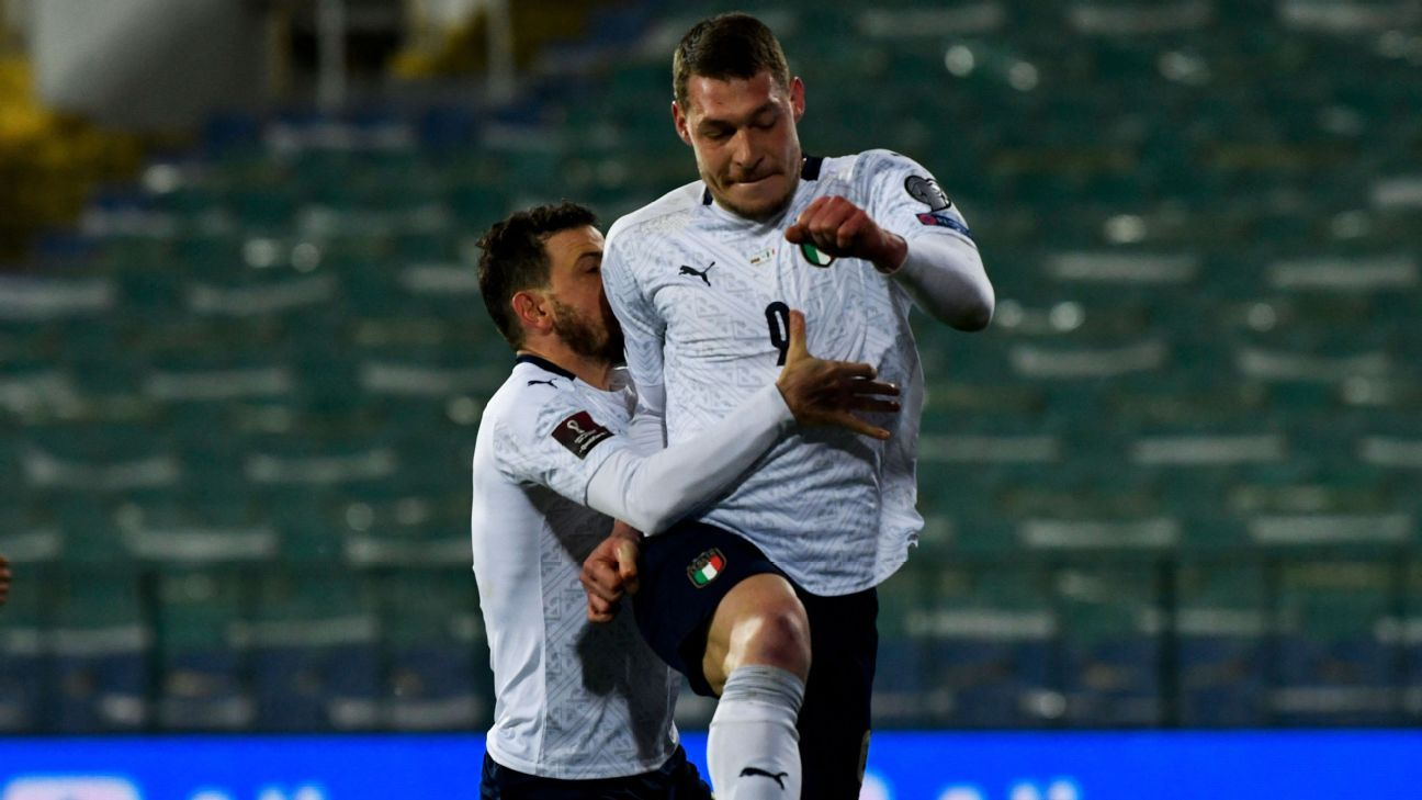 Bulgaria vs. Italy - Football Match Report - March 28, 2021 - ESPN
