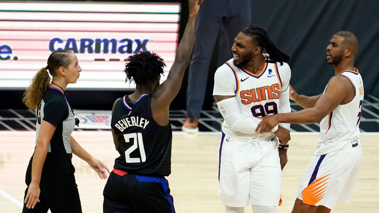 George lets Suns 'do the chirping' as Clips win thumbnail