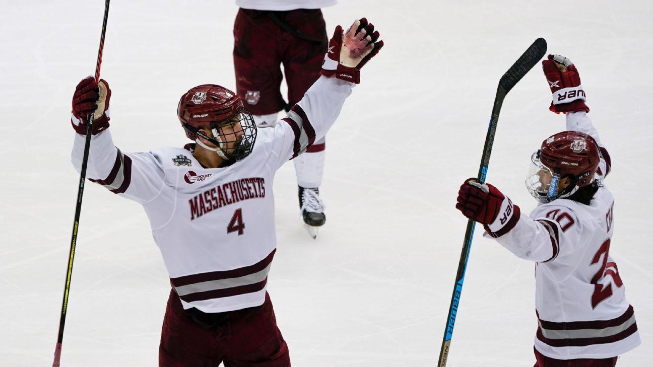 UMass wins first NCAA men's hockey title