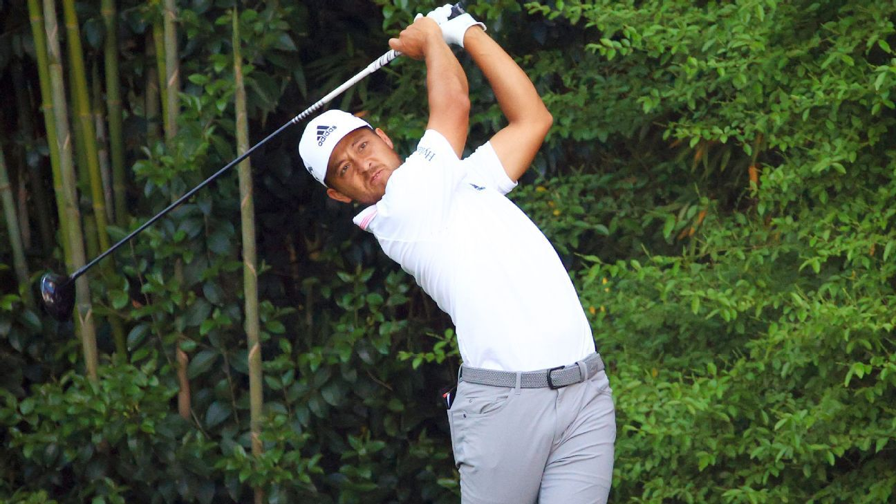Xander Schauffele finishes the Masters tied for third place settles on giving 'a little bit of excitement to the tournament at the end' – ESPN