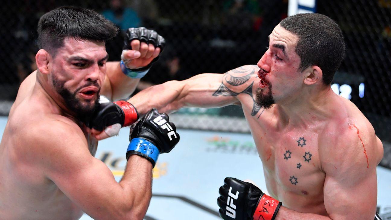 Fight Night takeaways: It's time to book Israel Adesanya vs. Robert Whittaker
