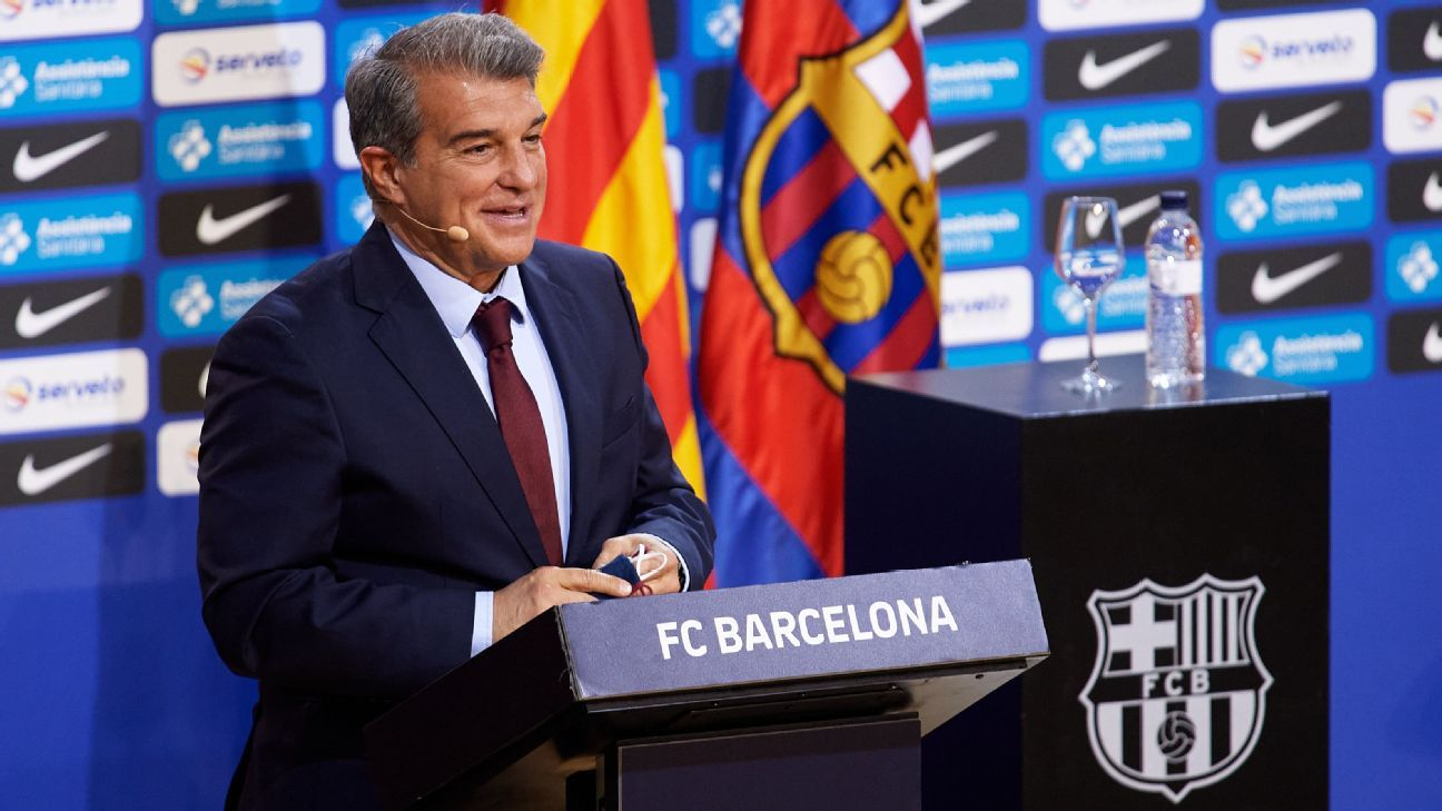 Laporta's Barcelona to-do list: Messi renewal, reduce debts, manage Super League backlash