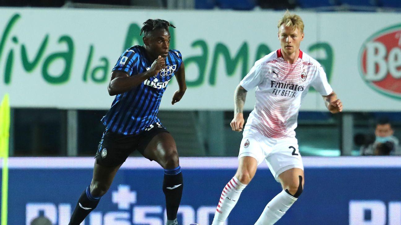Duván y Muriel no estuvieron finos en la derrota de Atalanta frente al Milan, pero su equipo clasificó a la Champions