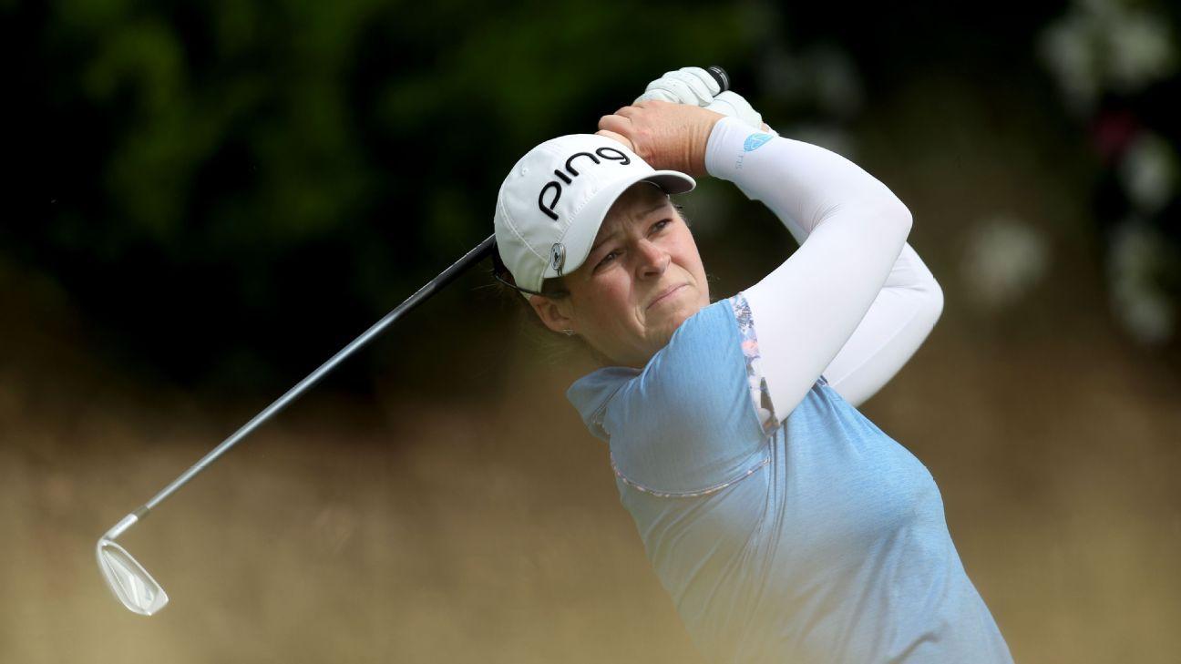Ewing joins 3 major champs in LPGA semifinals