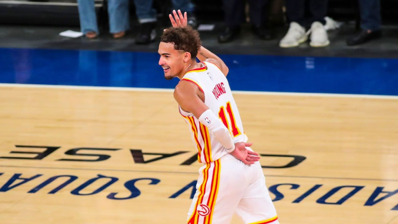 Trae Young takes bow as Atlanta Hawks finish off New York Knicks: 'I know what they do when the show is over' – ESPN