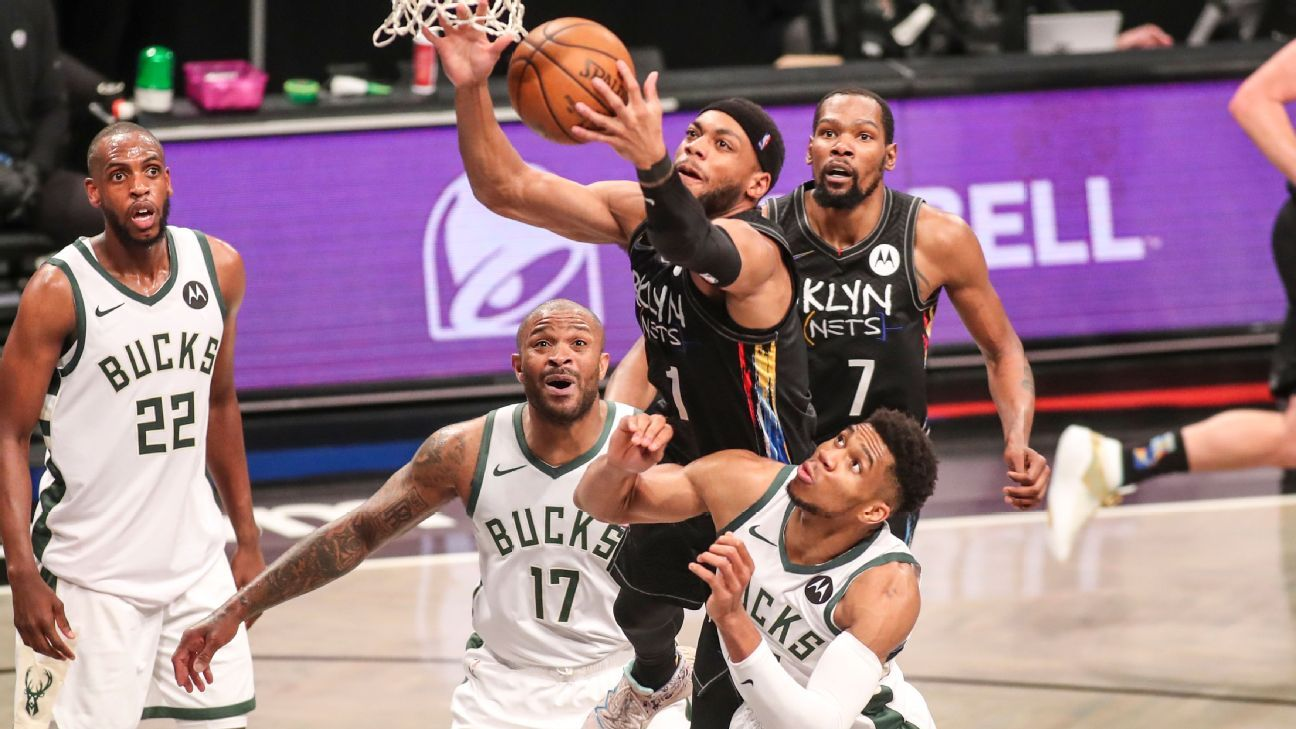 The Nets are putting the Bucks in an uncomfortable spot thumbnail